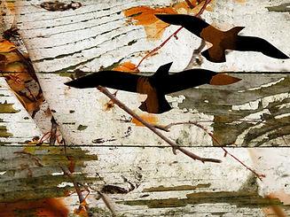 Rustic Landscape Art