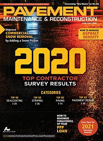 2020 top paving contractor