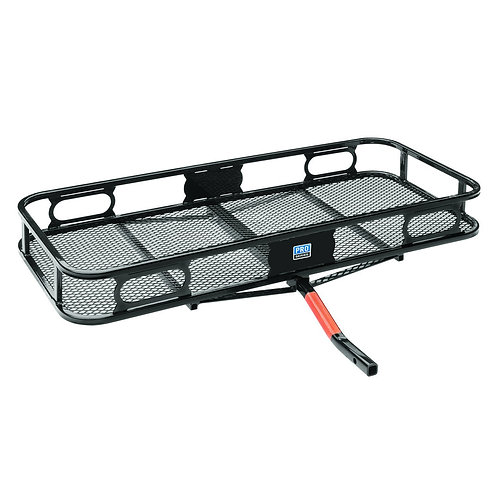 Hitch Mounted Cargo Carrier (Black)