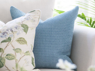 LIFE IS BETTER AT HOME - Classic Blue And White Summer Home Tour