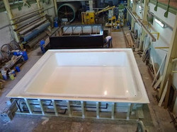 pool at factory assembly