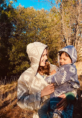 ABUNDANCE - Reversible Kid's Robe