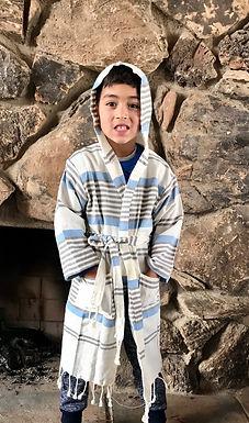 COMPASSION - Kid's Cotton Robe