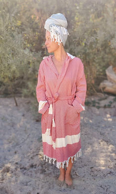PASSION - Hooded Cotton Robe