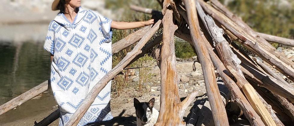 ABUNDANCE- Reversable Cotton Ponchos
