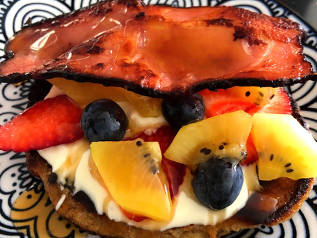Almond Meal Pancake Happiness