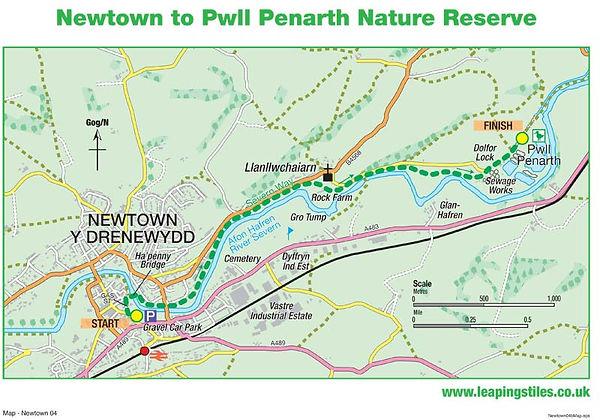 Newtown to Pwll Penarth Nature Reserve