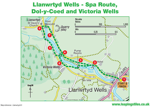 Llanwrtyd Wells: Spa Route