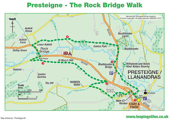 Presteigne: The Rock Bridge Walk