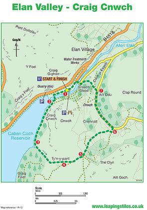 Elan Valley: Craig Cnwch