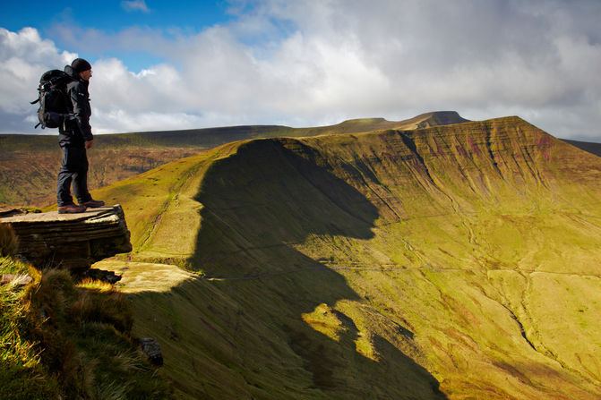 Beacons Ridge FanYBig Brecon Beacons