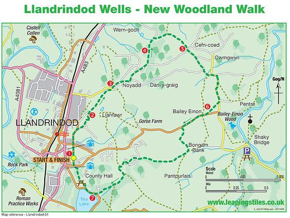 Llandrindod Wells: New Woodland Walk
