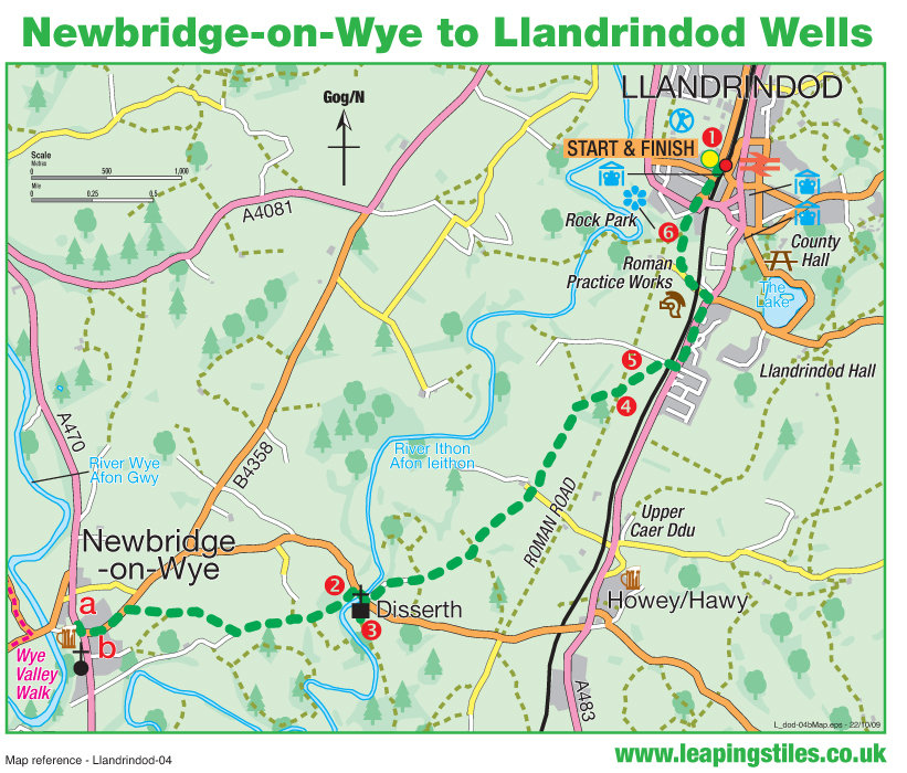 Newbridge on Wye | midwalesmyway
