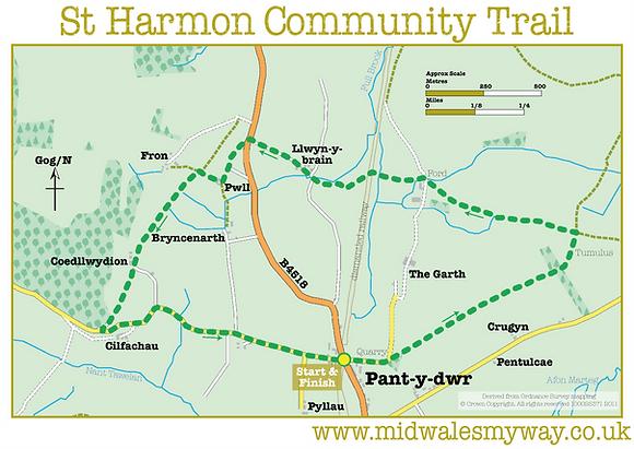 St Harmon Community Trail
