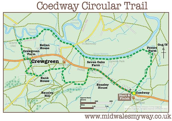 Coedway/Crew Green Circular Trail