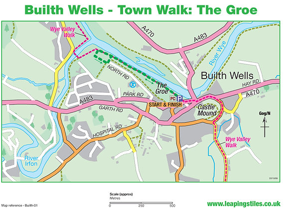 Builth Wells Town Walk: The Groe