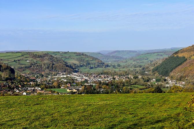 Knighton Town Photo