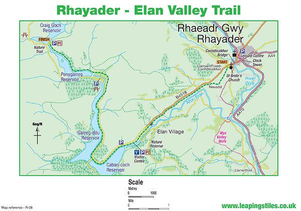 Rhayader: The Elan Valley Trail