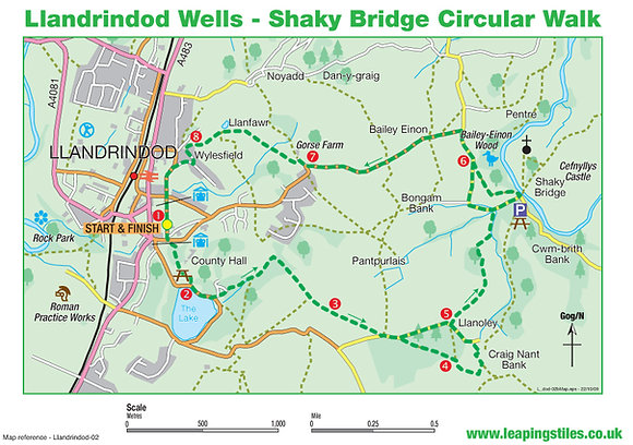 Llandrindod Wells: Shaky Bridge Walk