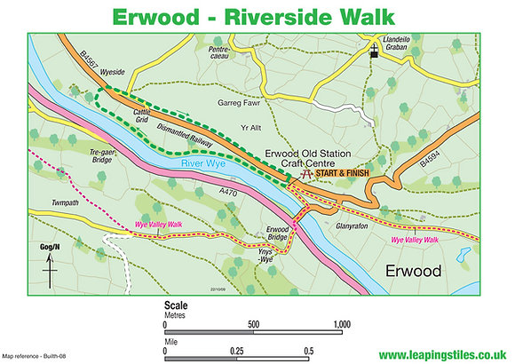 Erwood: Riverside Walk