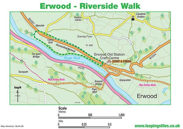 Erwood: Riverside Walk