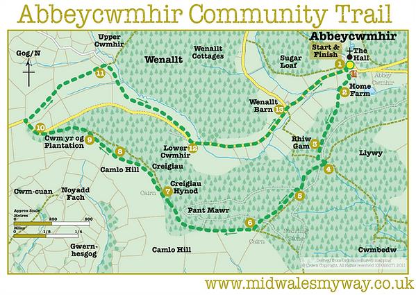 Abbeycwmhir Community Trail
