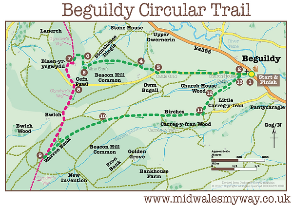 Beguildy Circular Trail
