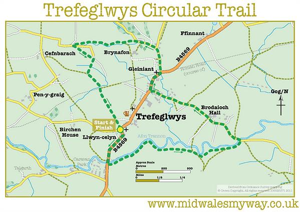 Trefeglwys Circular Walk