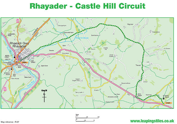 Rhayader: Castle Hill Circuit