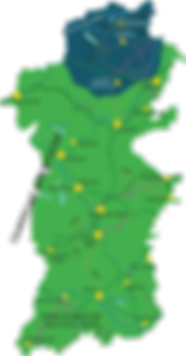 Powys Map Lake Vyrnwy highlighted.png