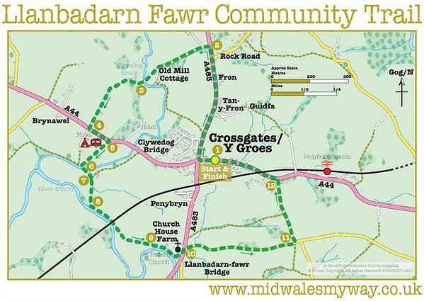 Llanbadarn Fawr Community Trail
