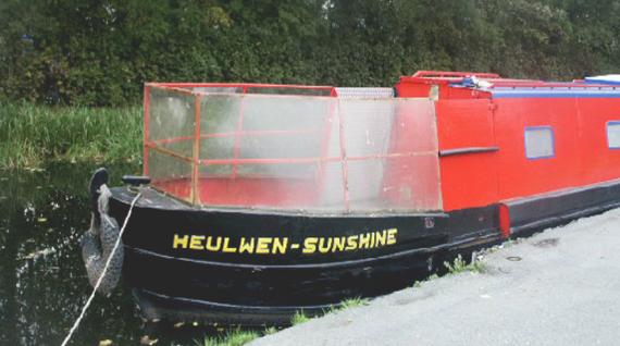 Heulwen Trust Canalboat Trips
