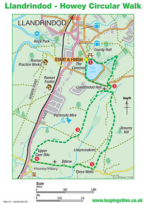 Llandrindod Wells: Howey Circular Walk