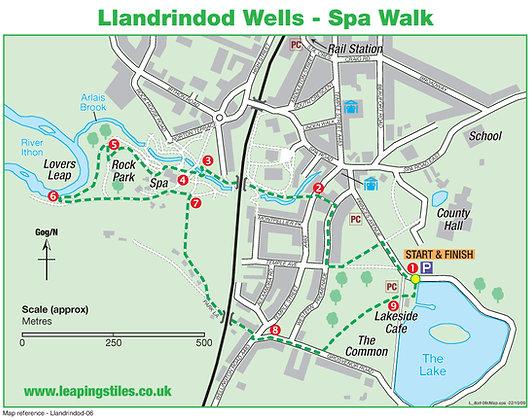 Llandrindod Wells: Spa Walk