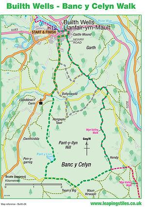 Builth Wells: Banc y Celyn Walk