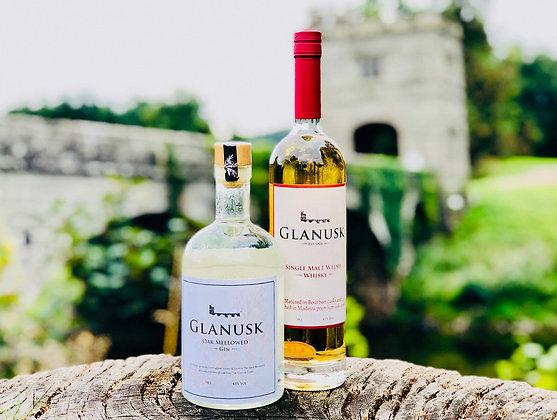 Glanusk Gin and Glanusk Whisky