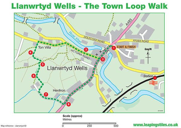 Llanwrtyd Wells: The Town Loop Walk