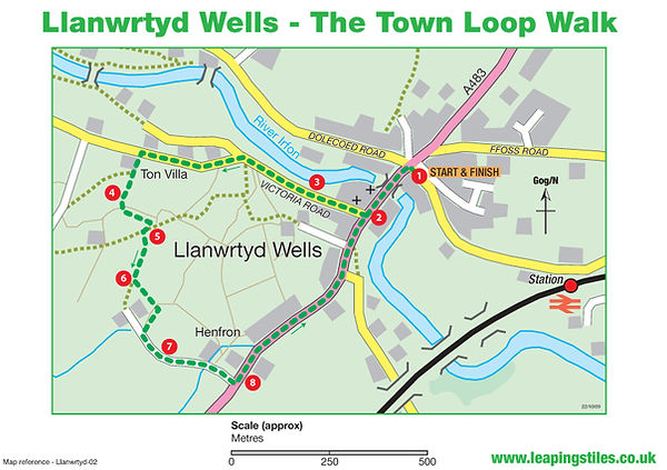 Llanwrtyd Wells: The Town Loop Walk