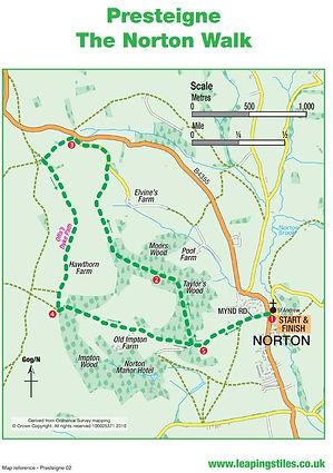 Presteigne: The Norton Walk