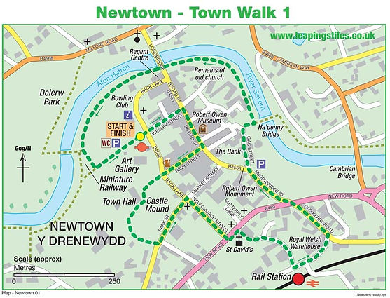 Newtown: Town Walk 1