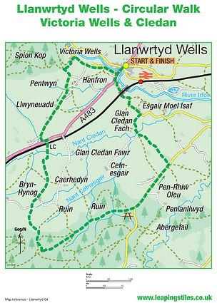 Llanwrtyd Wells: Victoria Wells & Cledan