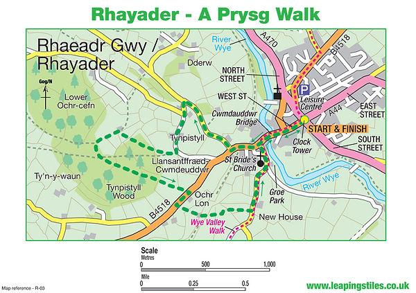 Rhayader: Y Prysg Walk