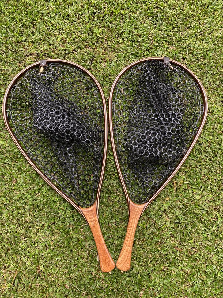 Handmade fly fishing net