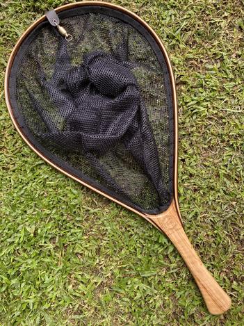 Wooden Fly Fishing Net 18