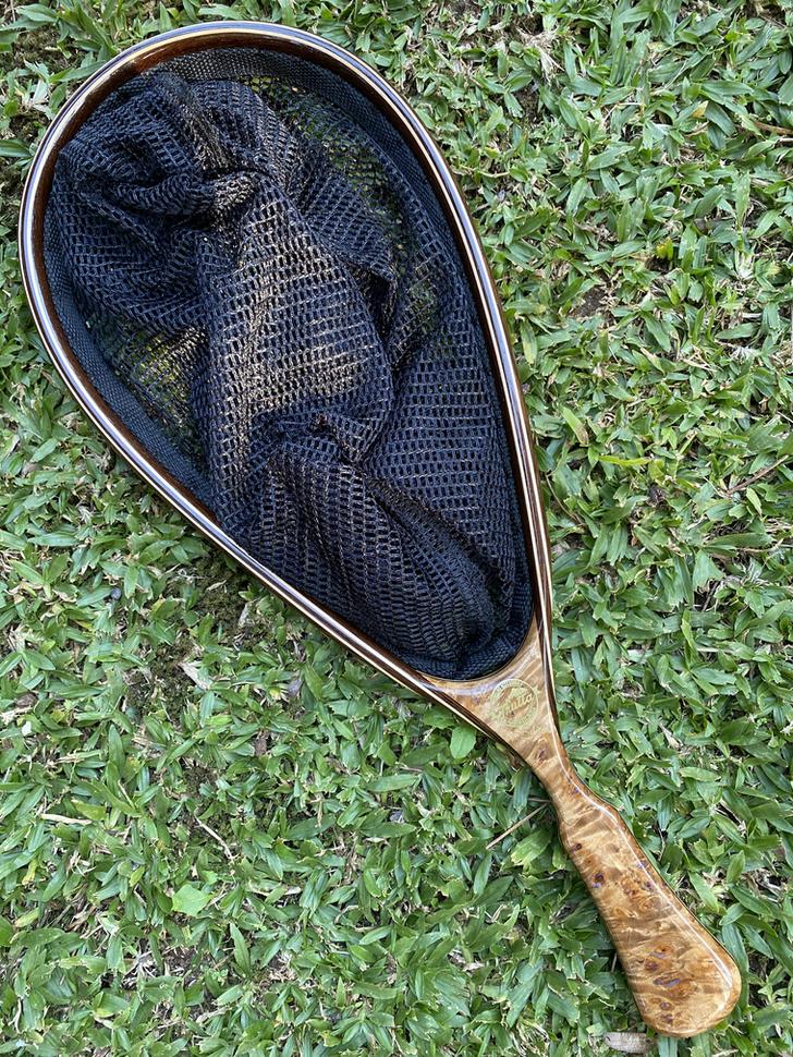 Wooden Fly Fishing Net 4