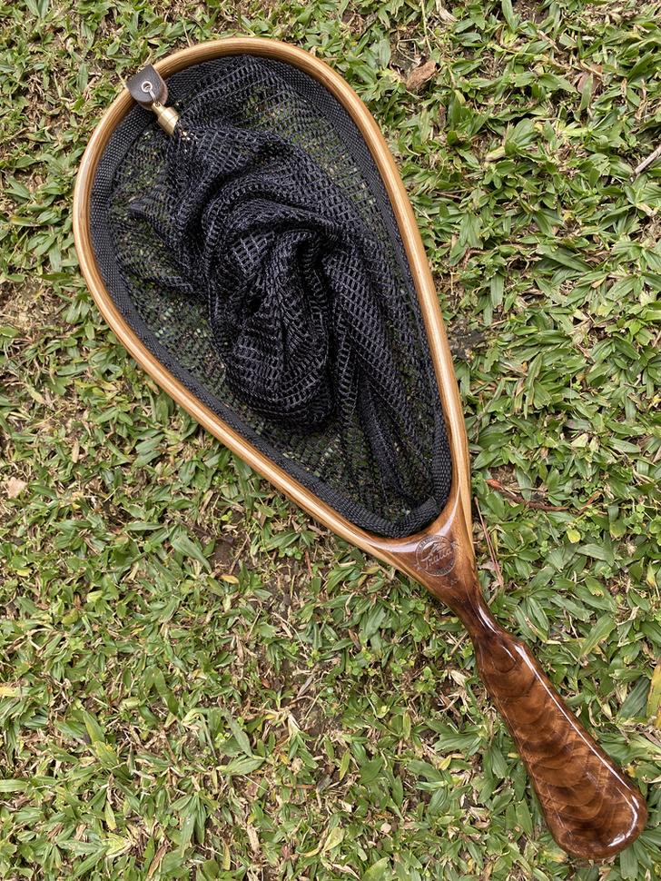 Wooden Fly Fishing Net 8