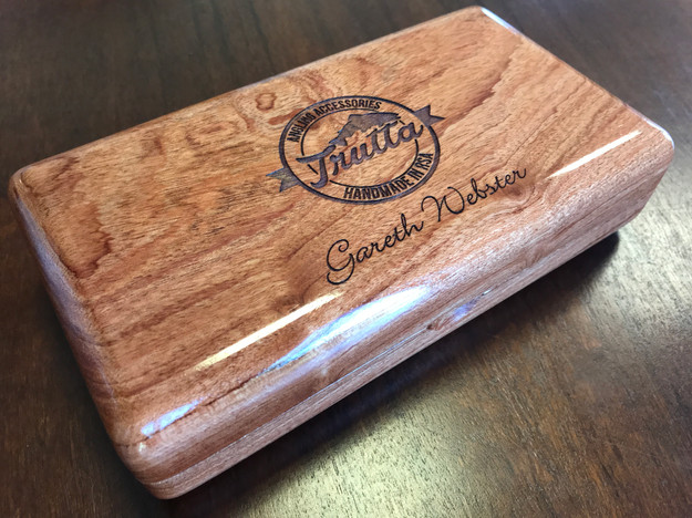 Wooden Fly Box 13