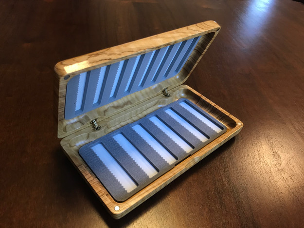 Wooden Fly Box 19