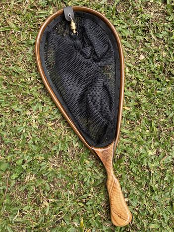 Wooden Fly Fishing Net 7