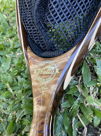 Wooden Fly Fishing Net 5